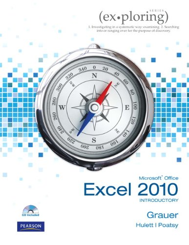 Exploring Microsoft Office Excel 2010 Introductory   2011 edition cover
