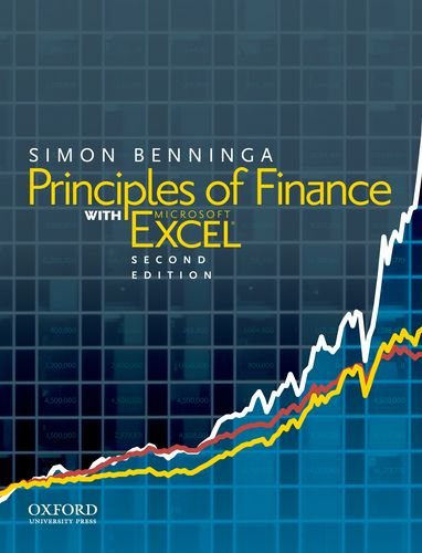 Principles of Finance with Excel  2nd 2010 edition cover