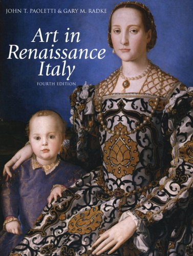 Art in Renaissance Italy  4th 2012 (Revised) edition cover