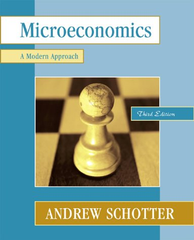 Microeconomics A Modern Approach 3rd 2001 edition cover
