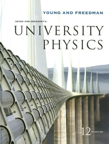 Sears and Zemansky's University Physics  12th 2008 edition cover