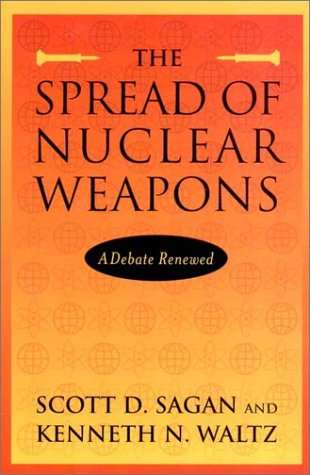 Spread of Nuclear Weapons A Debate Renewed 2nd 2002 edition cover