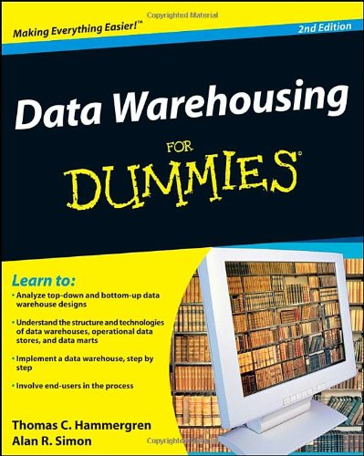 Data Warehousing for Dummies  2nd 2009 edition cover