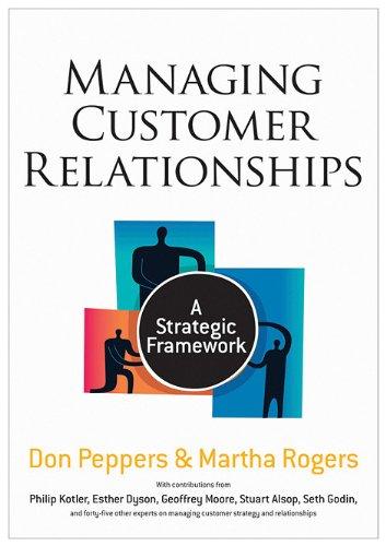 Managing Customer Relationships A Strategic Framework 2nd 2011 edition cover