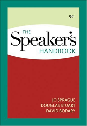Speaker's Handbook  9th 2010 edition cover