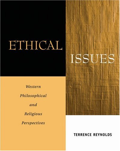 Ethical Issues Western Philosophical and Religious Perspectives  2006 9780534518479 Front Cover
