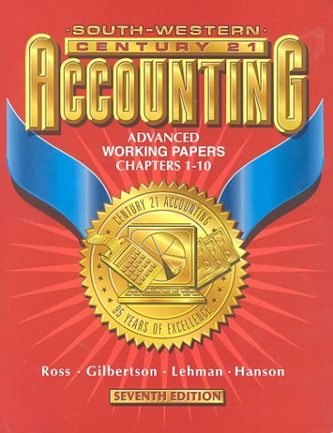 Accounting  7th 2000 9780538677479 Front Cover
