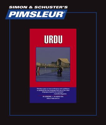 Urdu, Comprehensive: Learn to Speak and Understand Urdu With Pimsleur Language Programs  2010 edition cover