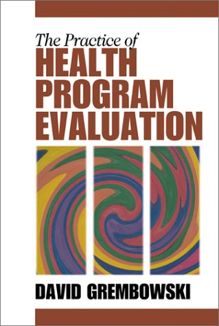 Practice of Health Program Evaluation   2001 edition cover