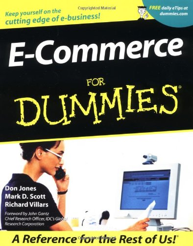 E-Commerce for Dummies   2001 9780764508479 Front Cover