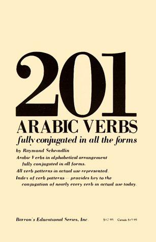 201 Arabic Verbs  1978 edition cover