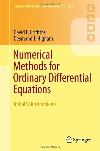 Numerical Methods for Ordinary Differential Equations Initial Value Problems  2010 edition cover