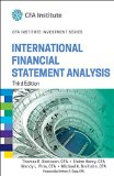 International Financial Statement Analysis  3rd 2015 edition cover