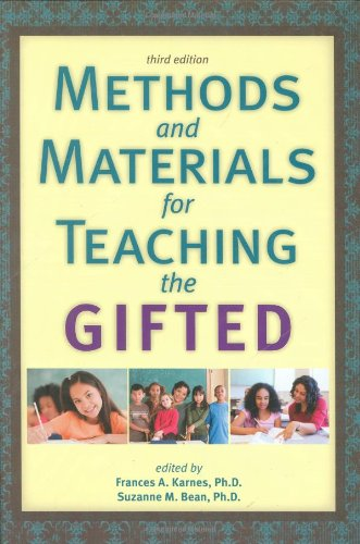 Methods and Materials for Teaching the Gifted 3rd 2009 (Revised) edition cover