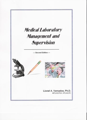 Medical Laboratory Management/Supervision N/A edition cover