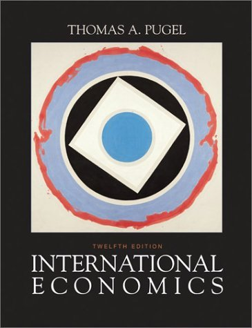 International Economics  12th 2004 (Revised) 9780072487480 Front Cover