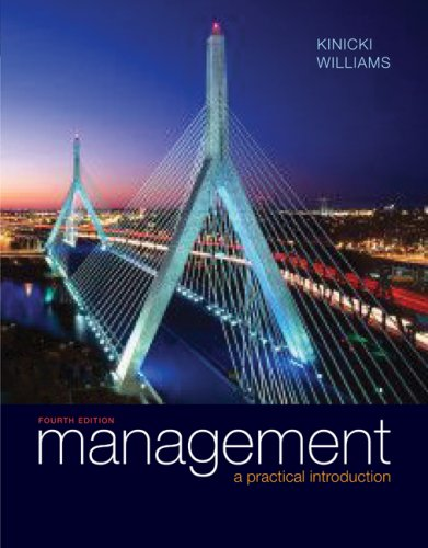 Management 4th 2009 edition cover
