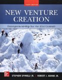 New Venture Creation Entrepreneurship for the 21St Century 10th 2016 9780077862480 Front Cover