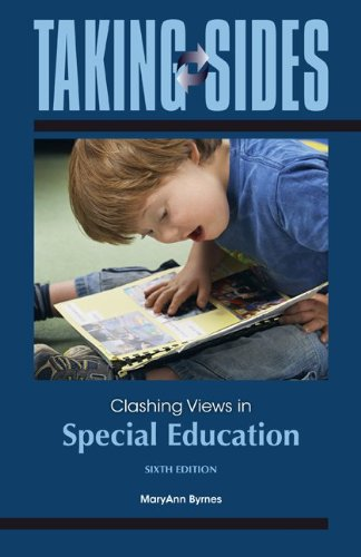 Taking Sides: Clashing Views in Special Education  6th 2013 edition cover
