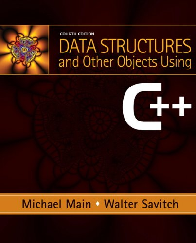 Data Structures and Other Objects Using C++  4th 2011 edition cover