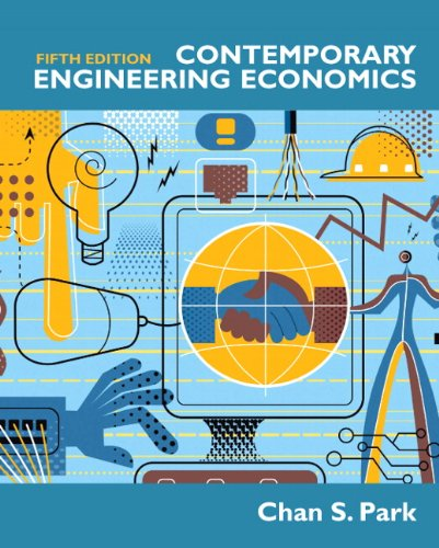 Contemporary Engineering Economics  5th 2011 edition cover