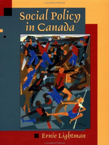 Social Policy in Canada   2002 9780195416480 Front Cover