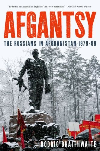 Afgantsy The Russians in Afghanistan 1979-89 N/A edition cover