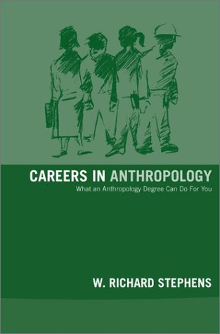 Careers in Anthropology   2002 edition cover
