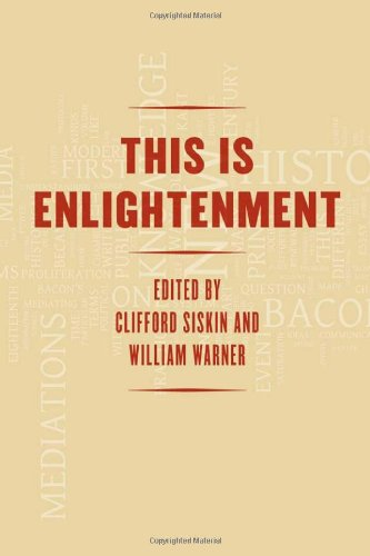 This Is Enlightenment   2010 9780226761480 Front Cover