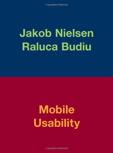 Mobile Usability   2013 (Revised) edition cover