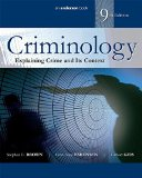 Criminology Explaining Crime and Its Context 9th 2016 (Revised) edition cover