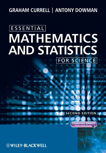 Essential Mathematics and Statistics for Science  2nd 2009 9780470694480 Front Cover