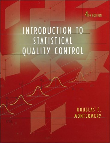 Introduction to Statistical Quality Control  4th 2001 9780471316480 Front Cover