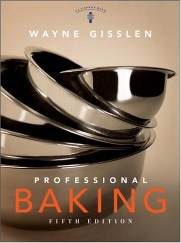 Professional Baking  5th 2009 edition cover