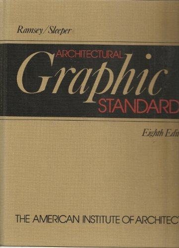 Architectural Graphic Standards  8th 1988 edition cover