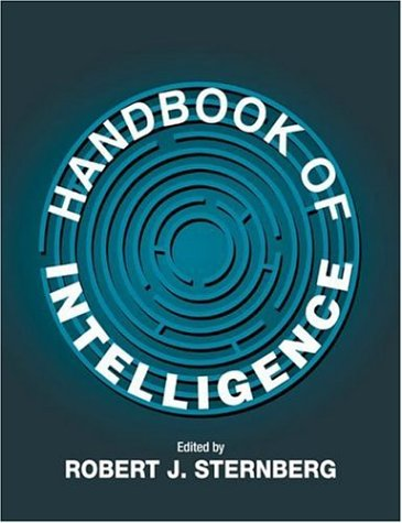 Handbook of Intelligence   2000 9780521596480 Front Cover