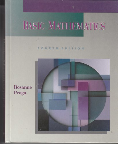 Basic Mathematics 4th 1995 edition cover