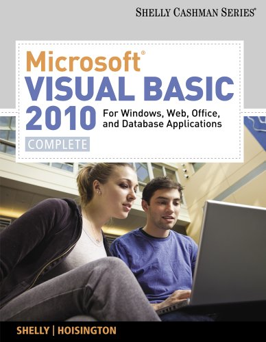 Microsoft� Visual Basic 2010 For Windows, Web, and Office Applications - Complete  2011 9780538468480 Front Cover