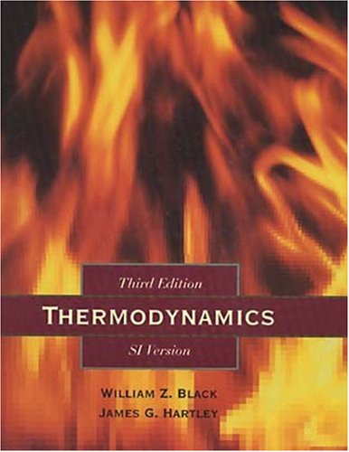 Thermodynamics  3rd 1996 edition cover