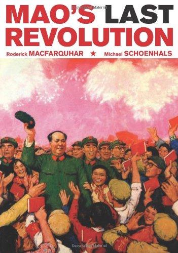 Mao's Last Revolution   2006 edition cover