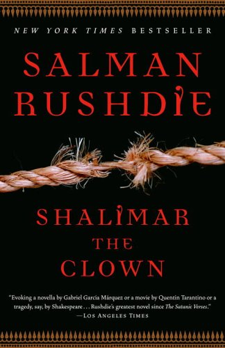 Shalimar the Clown  N/A edition cover