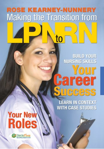 Making the Transition from LPN to RN   2010 edition cover