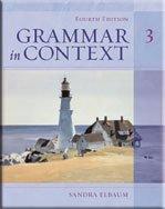 Grammar in Context Book 3  4th 2006 edition cover