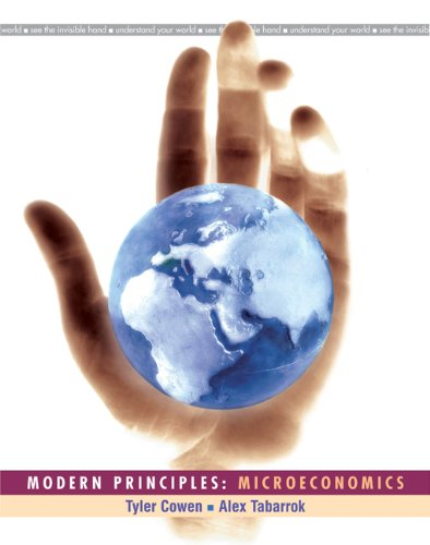 Modern Principles Microeconomics N/A edition cover