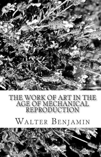 Work of Art in the Age of Mechanical Reproduction   2010 edition cover