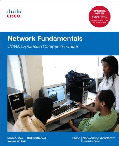 Network Fundamentals CCNA Exploration Companion Guide  2012 edition cover