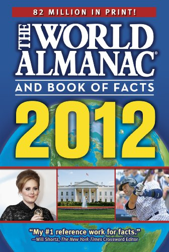 World Almanac� and Book of Facts 2012   2012 edition cover