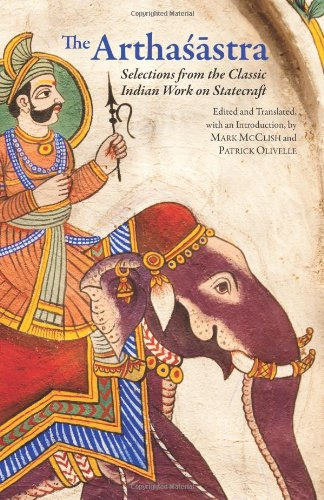 Arthas�stre Selections from the Classic Indian Work on Statecraft  2012 edition cover