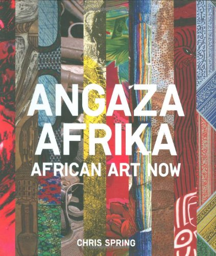 Angaza Afrika African Art Now  2008 edition cover