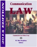 Communication and the Law 2014  N/A edition cover